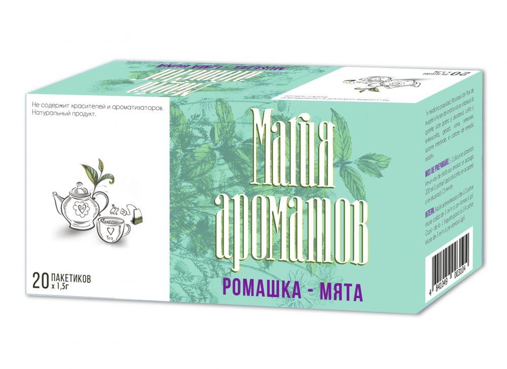 Купить РОМАШКА-МЯТА фиточай 1,5 г №20