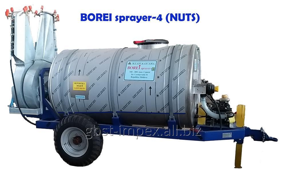 Купить Опрыскиватель вентиляторный, для защиты грецкого ореха BOREI-4