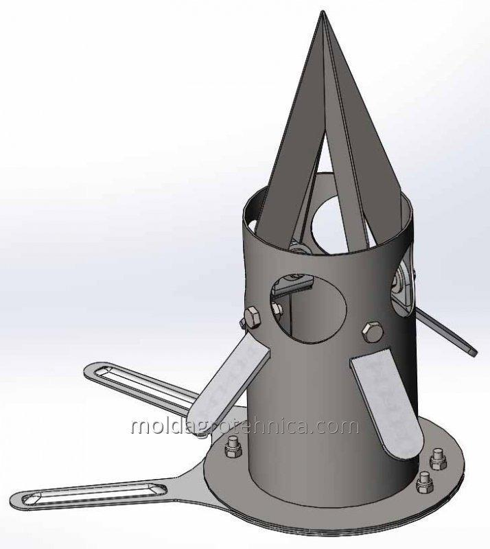 Клапан дозатор для мешков Биг Бэгов (bigbag)