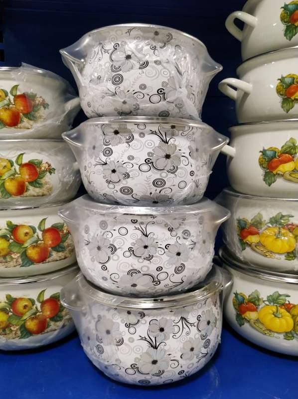 Купить Эмалированная посуда- набор кастрюль