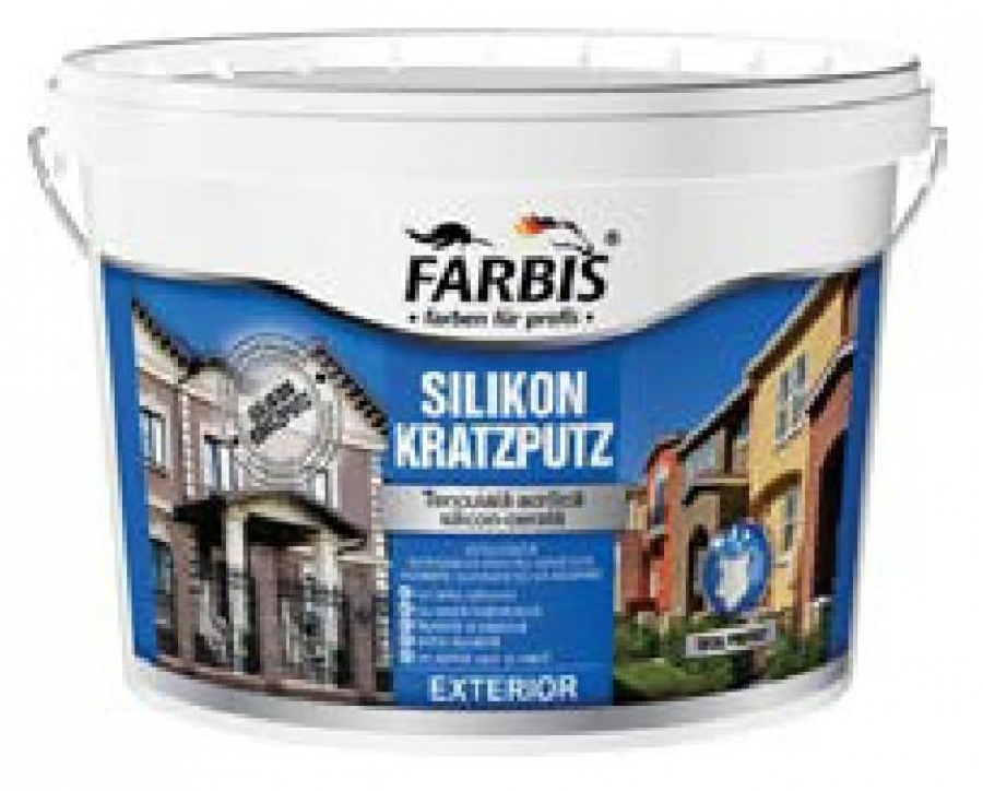 Купить Декоративная штукатурка Silikon kratzputz fabris