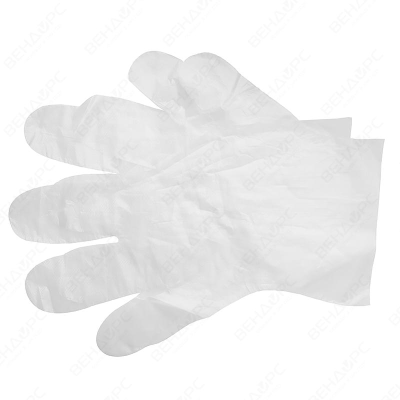 Купить Одноразовые перчатки из полиэтилена