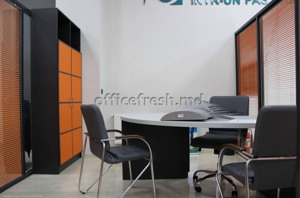 Buy Office furniture (for the bank)
