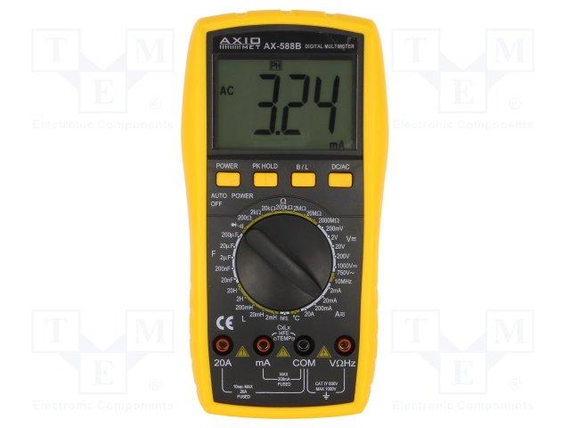 Купить Цифровой мультиметр AXIOMET AX-588B