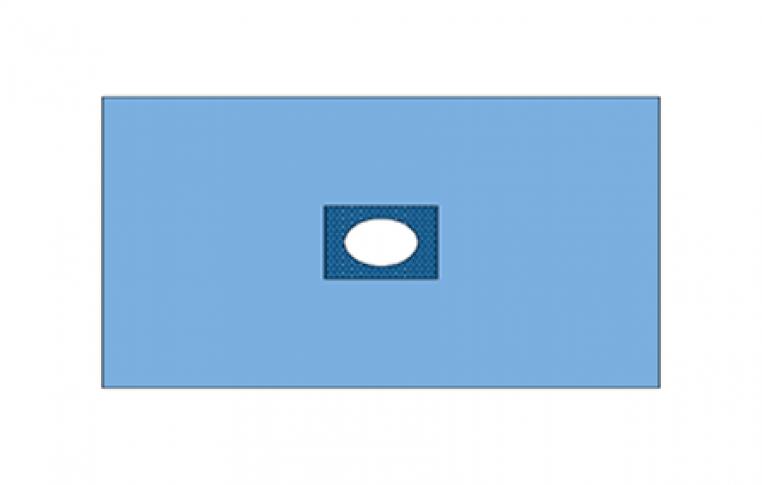 Купить Хирургическое покрытие Drape with Adhesive Fenestration