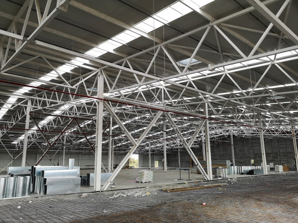 Здания и помещения складские каркасные из металла в Молдове