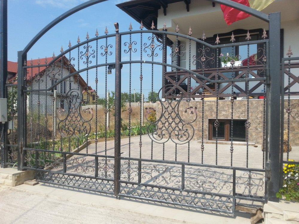 Ворота металлические в Молдове