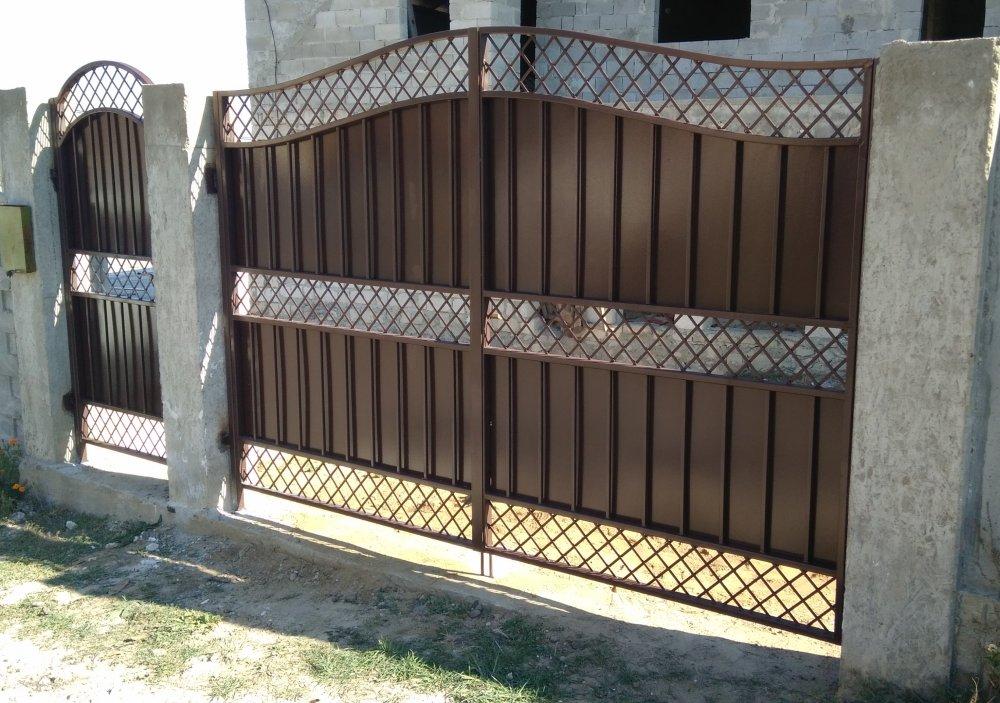 Ворота металлические на заказ от Metal SV Profit в Молдове