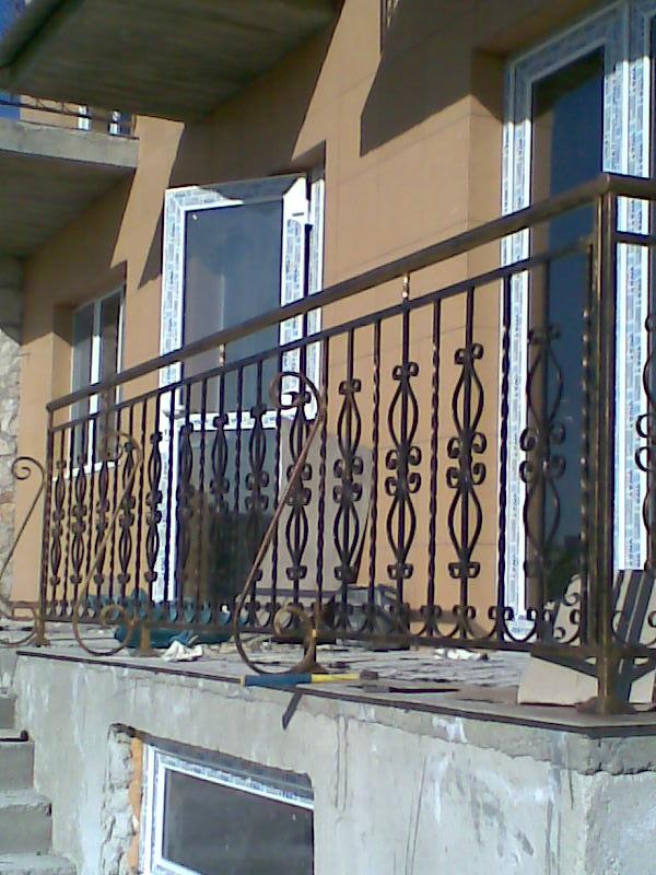 Балконные перила металлические в Молдове