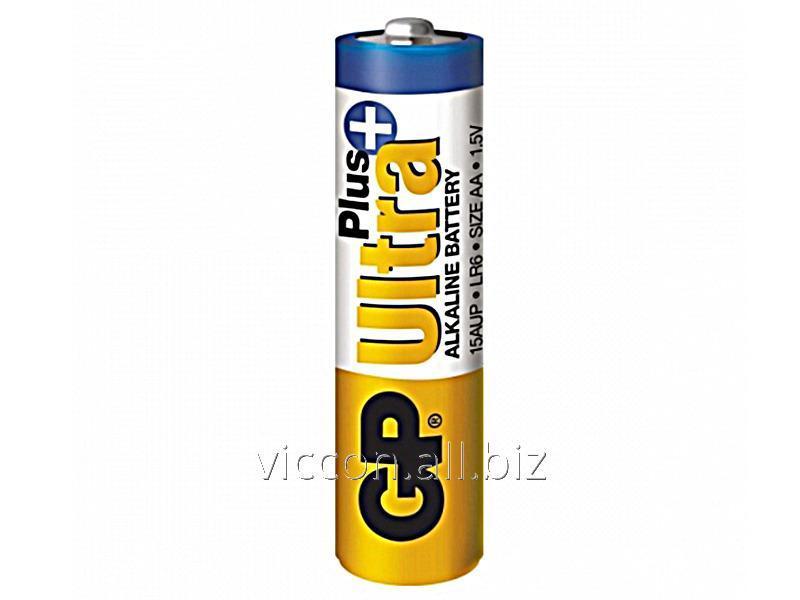"Купить GP Ultra Plus Alkaline GP,15AUP U2,""LR6, AA"