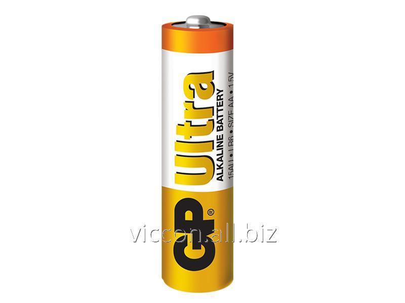 "Купить GP Ultra Alkaline GP,15AU U5,""LR6, AA"