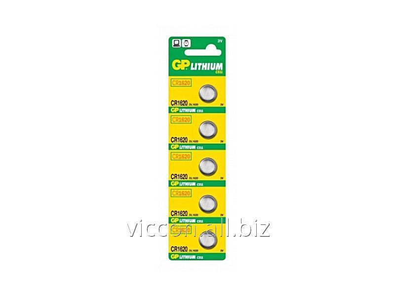 Купить Батарейки алкалиновые Alcaline CR-1620 U5 GP, DL1620