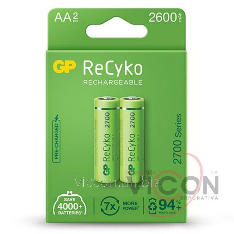Купить Аккумулятор GP, 270 AA HC-U2, R6, AA, 2700 mAh, NiMh