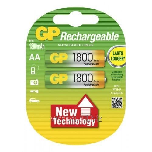 Купить Аккумулятор GP,180 AA HC-U2, R6, AA,1800 mAh, NiMh, 2 шт