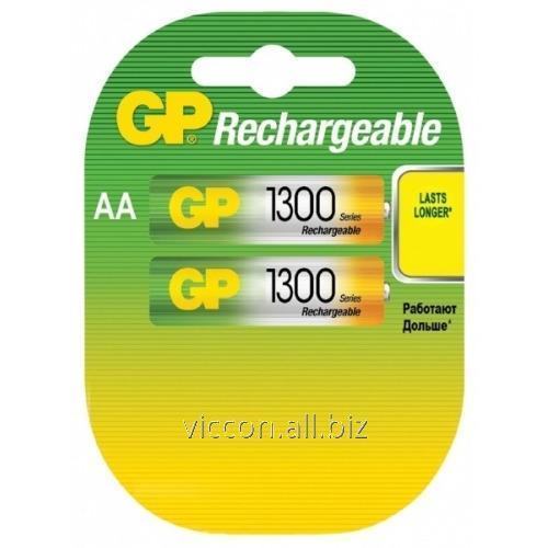 Купить Аккумулятор GP, 130 AA HC-U2, R6, AA, 1300 mAh, NiMh