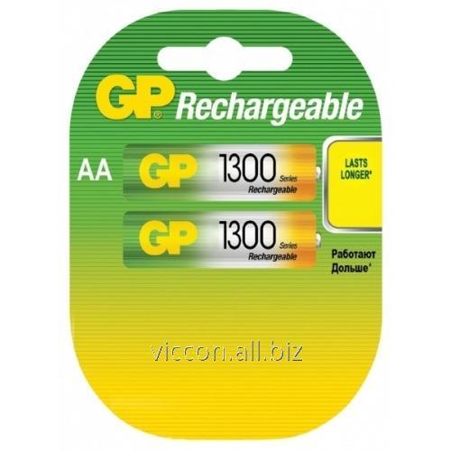Купить Аккумулятор GP, Recyko 130 AA HC-U2, R6, AA, 1300 mAh, NiMh, 2 шт