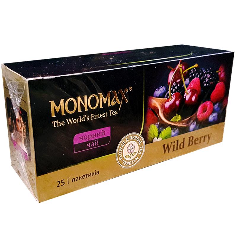 Купить Чай MONOMAX «WILD BERRY» 25 пакетиков