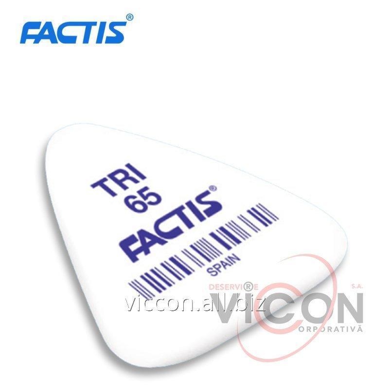 Купить Ластик FACTIS TRI-65 / 3,6 x 3,3 x 0,6 cm