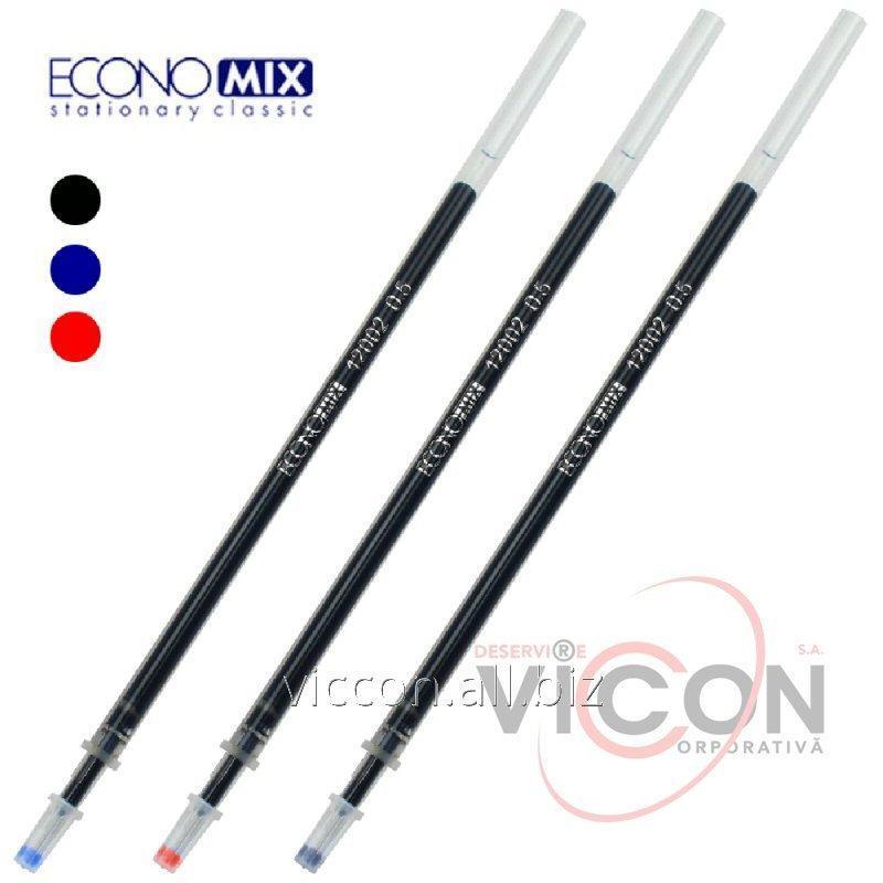 Купить Стержень для гелевой ручки ECONOMIX GEL PIRAMID