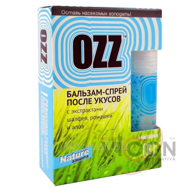 Купить OZZ Nature Бальзам-спрей после укусов 6мл голубой
