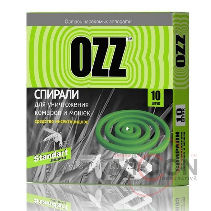 Купить OZZ Standart Спираль от комаров и мошек 10шт зеленый