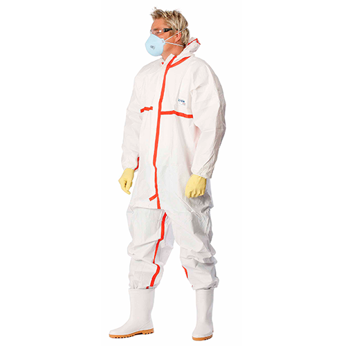 Buy Antistatic overalls. chemical resistance. CHEMSAFE 400