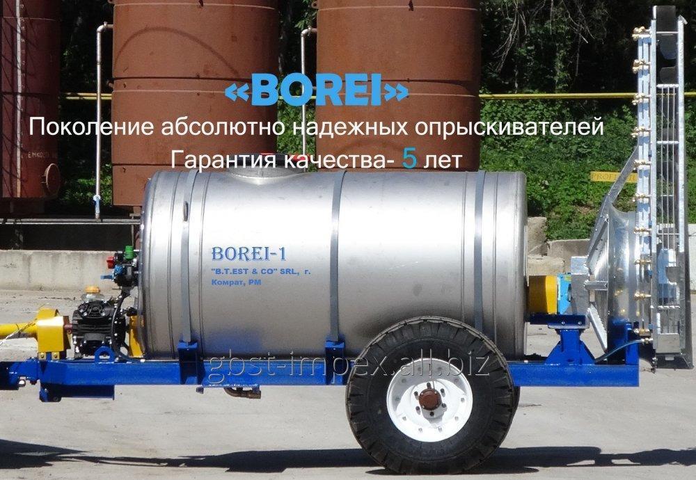 """Купить Опрыскиватель вентиляторный прицепной, для садов """"BOREI sprayer-1"""""""