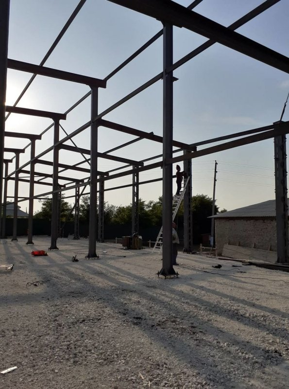 Buy Steel structures from Zerghes SRL