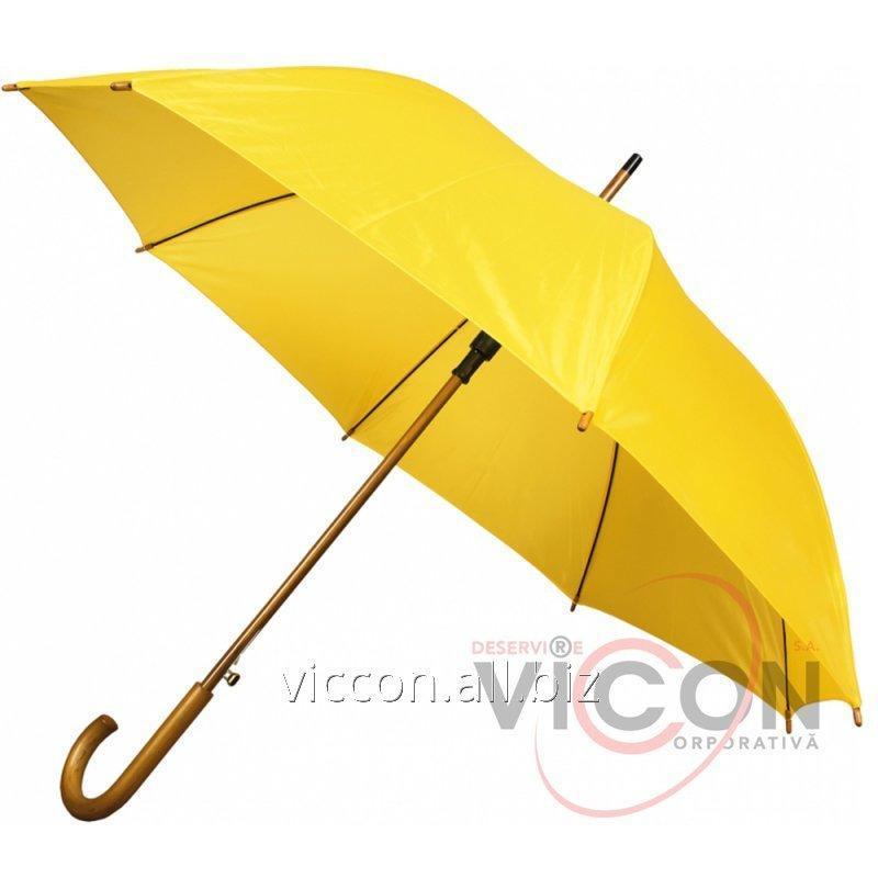 Купить Зонт трость автомат. TWIST, желтый