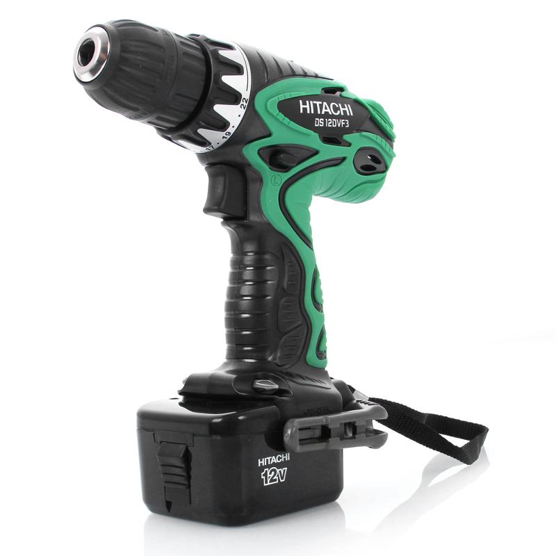 Buy Cordless screwdriver HITACHI DS12DVF3