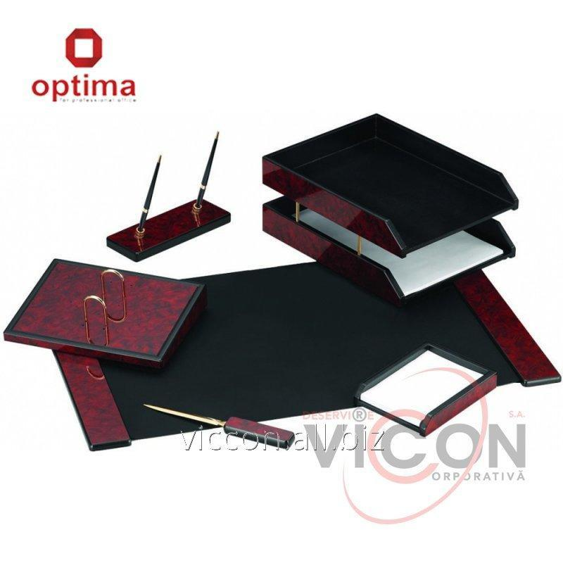 Купить Набор настольный деревянный из 6 предметов OPTIMA O36428