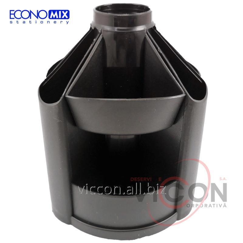 Купить Подставка-органайзер ECONOMIX, черная, E32205