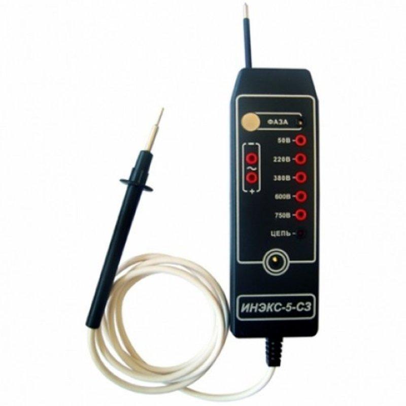 Купить Указатель напряжения светозвуковой ИНЭКС-5-СЗ 1000 В