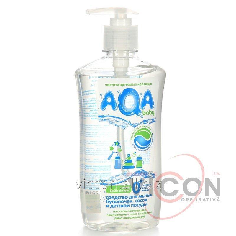 Купить Средство для мытья детской посуды AQA BABY, 500 мл