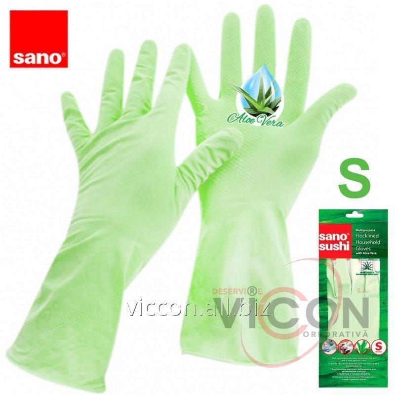Купить Перчатки с экстрактом алоэ SUSHI ALOE VERA GLOVES (Small)
