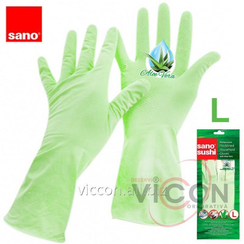 Купить Перчатки с экстрактом алоэ SUSHI ALOE VERA GLOVES (Large)