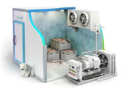 Купить Комплект холодильного оборудования для камеры хранения Сливы, персика, черешни... 100т.