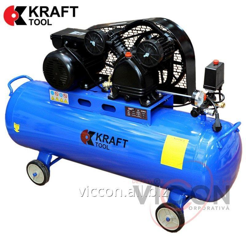 Купить Компрессор 2200W 8 Bar KT100L2C KraftTool