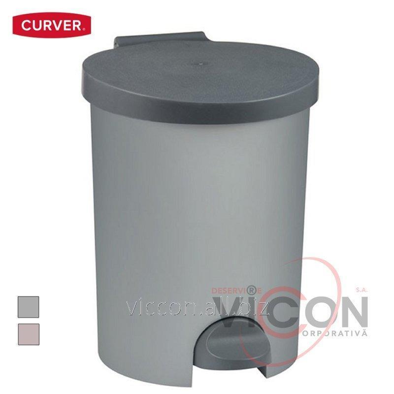 Купить Ведро для мусора с педалью STEP-ON, 15 Л., CURVER