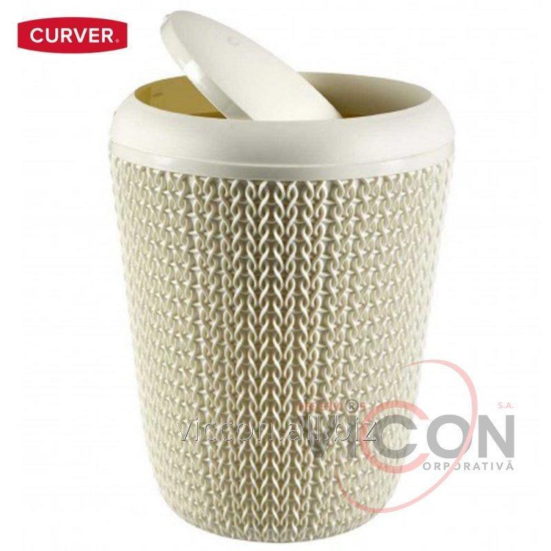 Купить Корзина для мусора KNIT CURVER