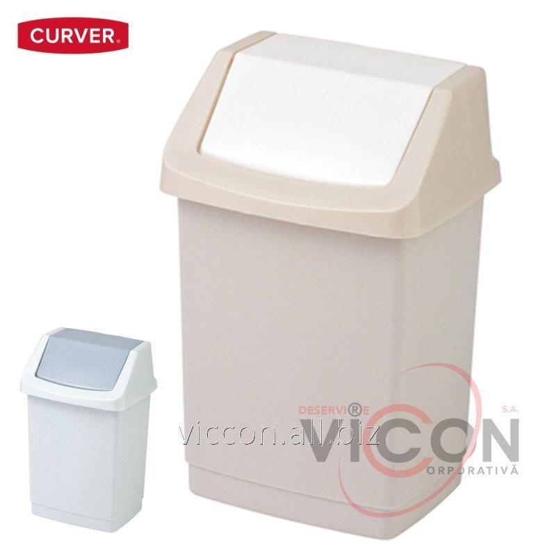 Купить Ведро для мусора CLICK-IT CURVER, 50 Л