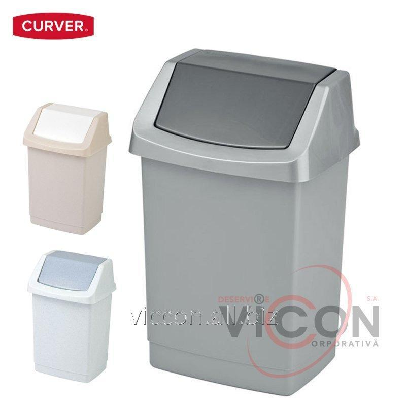 Купить Ведро для мусора CLICK-IT CURVER, 25 Л