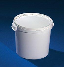 Купить Ведро пластиковое с крышкой и ручками 26 литров