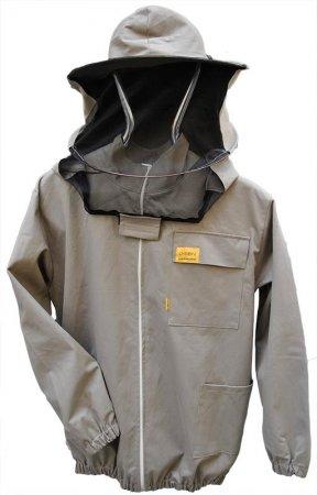 Купить Куртка пчеловода с замком и лицевой сеткой OPTIMA Line