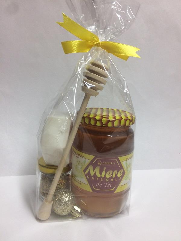 Купить Подарочный набор мёд липовый