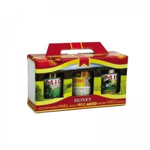 Купить Декоративная упаковка для 3 банок 315-370мл.