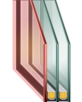 cumpără Unitate cu geam termopan GLASS TRIPLEX
