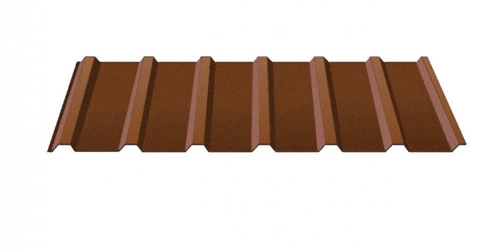 Купить Профнастил H-10 8017, коричневый