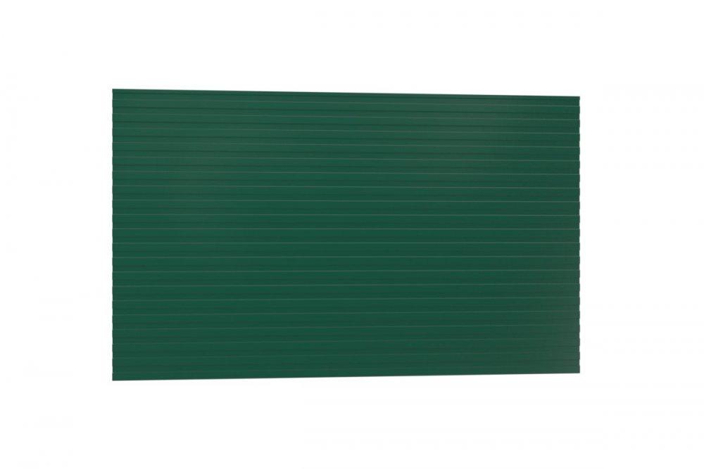 Купить Профнастил H-10 6005, тёмн. зелёный (забор/подшив.)