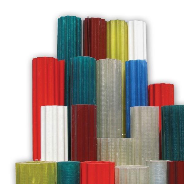 Купить Gutagliss polyester ondulat verde 1m